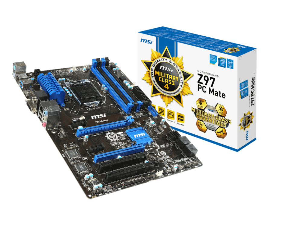 MSI INTEL Z97 PC MATE MOTHERBOARD